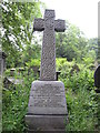 SK3485 : Ornate headstone, Sheffield General Cemetery by Graham Robson