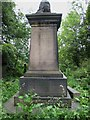 SK3485 : The grave of Nathaniel Phillips, Sheffield General Cemetery by Graham Robson