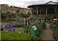 TQ3383 : Garden, Geffrye Museum by Julian Osley