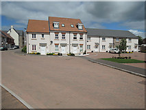 ST0107 : Cullompton: part of the Kingfisher Reach development by Martin Bodman