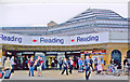 SU7173 : Reading Station, entrance 2011 by Ben Brooksbank