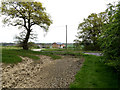 TM3470 : Footpath toHolme's Hill by Adrian Cable