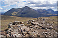 NG4932 : Exposed bedrock on Meall Odhar Mòr by Richard Dorrell