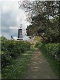 TA0233 : Skidby windmill by Steve  Fareham
