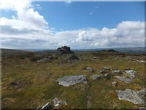 SX7376 : Rocks on Top Tor by David Smith