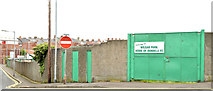 J3774 : Wilgar Park football ground, Belfast - May 2014(1) by Albert Bridge