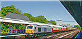 TQ2850 : Empty Royal Pullman Train at Redhill, with Class 67 Diesel, 2006 by Ben Brooksbank