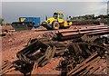 SX8767 : Road construction, Kingskerswell by Derek Harper