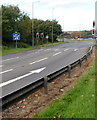 ST6378 : End of the exit sliproad from the M32 northbound at junction 1 near Hambrook by Jaggery