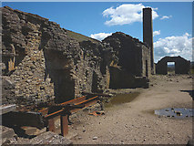 NY9700 : The ruins, Old Gang smelting mill by Karl and Ali