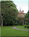 TQ3090 : Trinity Primary Academy, Wood Green by Jim Osley