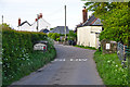 SS8422 : North Devon : Country Lane by Lewis Clarke
