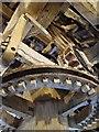 SJ4553 : Victorian Cogwheels at Stretton Mill by David Dixon