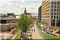 TQ3083 : King's Cross & St.Pancras redevelopment by Richard Croft