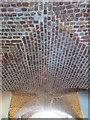 SX0371 : Brick vaulting in the Peacock restaurant at Pencarrow House by Rod Allday