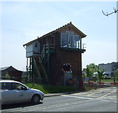 TL4197 : March East signal box  by JThomas