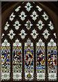 TR0624 : East window, St Nicholas church, New Romney by Julian P Guffogg