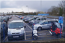 SP5006 : Oxford station car park by Given Up