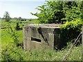 TM3388 : Pillbox in Flixton Road by Adrian S Pye
