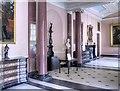SJ7481 : Entrance Hall at Tatton by David Dixon