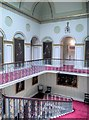 SJ7481 : Landing and Staircase, Tatton Hall by David Dixon