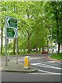 TQ2874 : South Circular - Clapham Common by Stephen McKay