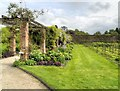 SJ7481 : Tatton Park Walled Garden by David Dixon