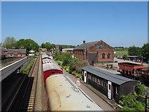 TL8928 : East Anglian Railway Museum, view from footbridge by Roger Jones