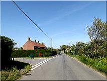 TM4888 : Hulver Road, Mutford by Adrian Cable