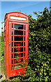 TM4888 : Telephone Box on Church Road by Adrian Cable