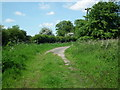 TA0036 : Section of the old road, Coppleflat Lane by Chris