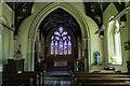 SK9875 : Interior, St Mary's church, Riseholme by J.Hannan-Briggs