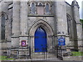 NO2507 : Great South Door of Falkland Parish Church by Stanley Howe