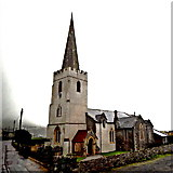 D3115 : County Antrim - Coast Road (A2) - Glenarm - St Patrick's Church of Ireland by Suzanne Mischyshyn