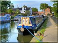 SJ6887 : Indie on the Bridgewater Canal at Lymm by David Dixon
