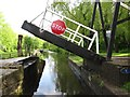 SJ9397 : Lift Bridge [No 1] being lowered, Peak Forest Canal by Christine Johnstone