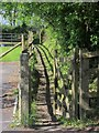 SX3271 : Footpath, Golberdon by Derek Harper