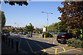 SZ1593 : Waitrose car park, Christchurch by Mike Searle