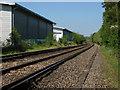 SU9846 : Railway near Peasmarsh by Alan Hunt