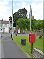 SK2425 : Postbox at Horninglow Green ref DE13 1025 by Alan Murray-Rust