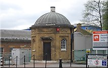 TQ3780 : Former Guard House, West India Docks by N Chadwick