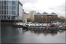 TQ3780 : North Dock, West India Docks by N Chadwick
