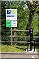 SP2665 : Electric vehicle charging points, Warwick Parkway by David P Howard