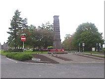 NO2501 : Leslie war memorial by Stanley Howe