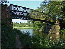 SU9946 : Old railway bridge by Alan Hunt