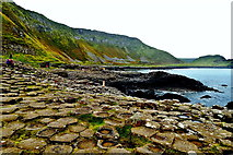 C9444 : County Antrim - Giant's Causeway - Port Ganny Coastline by Suzanne Mischyshyn