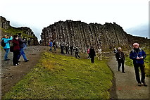 C9444 : County Antrim - Giant's Causeway - Grand Causeway - View from Lower Walkways by Suzanne Mischyshyn