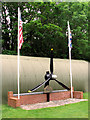 TM3187 : 446th Bomb Group (H) memorial by Evelyn Simak