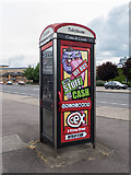 TL4658 : Telephone Box on East Road by Kim Fyson