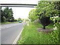 SX9790 : Millennium Sculpture adjacent to A3052 by Peter Holmes